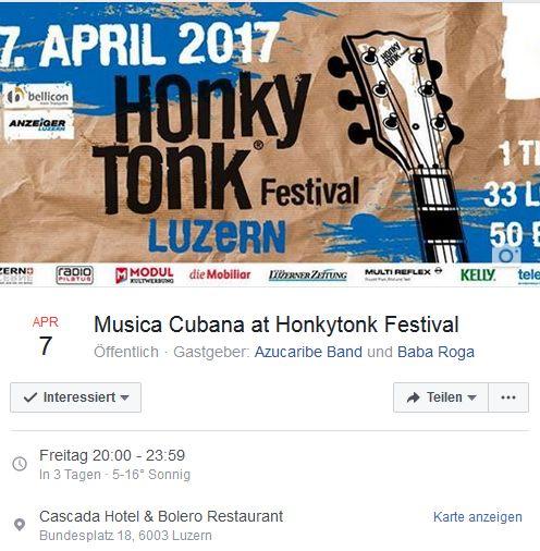 Azucaribe @ Honkytonk Festival